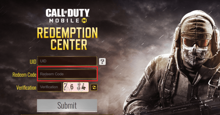 Call Of Duty Mobile Code