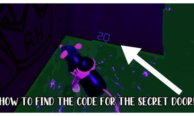 HOW TO FIND THE CODE TO THE SECRET DOOR