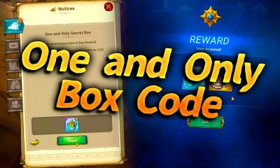 one and only secret box codes