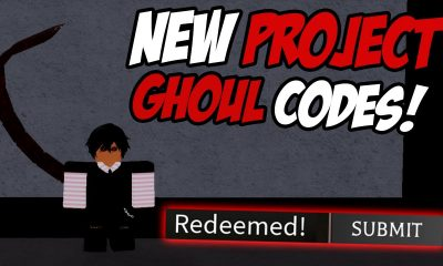 Project Ghoul Codes roblox game